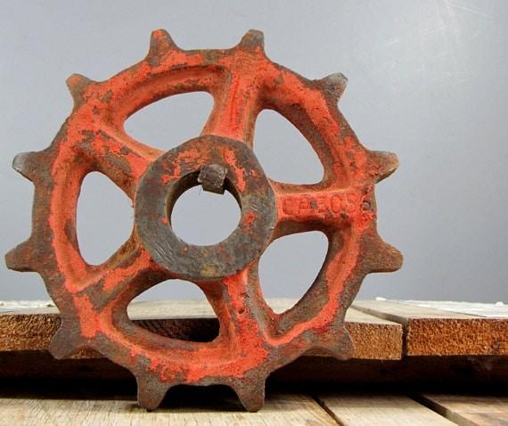 scrap farm machinery gear
