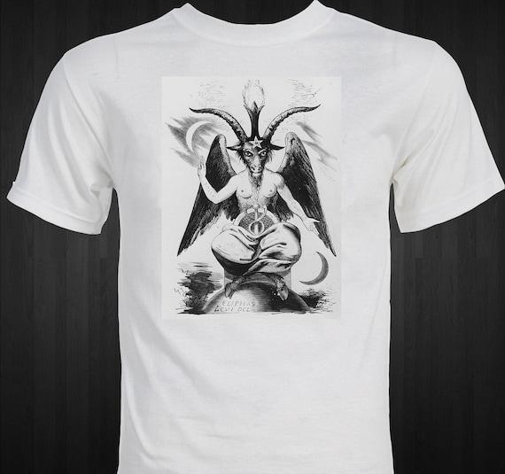 The Devil - 1891 Satanic Rosicrucian occult magick - Stanislas de Guaita T-shirt
