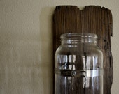 Repurposed, Upcycled Home Decor - Wall Sconce/Vase