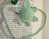 Crochet Turtle Book Mark/Book Thong