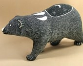 Acoma Pueblo, NM Bear Claw pottery, Lawrence Chavez