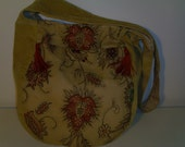 Embroidery and Velvet Bag