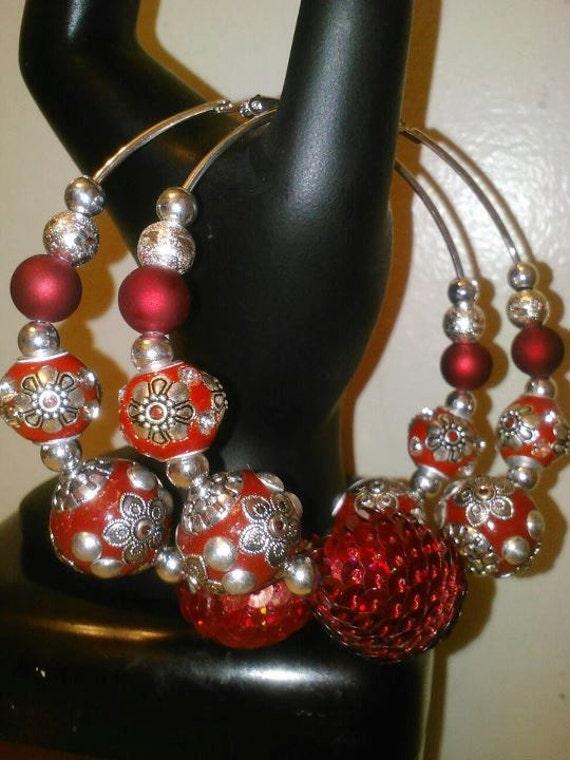 SCARLET... Basketball Wives inspired earrings