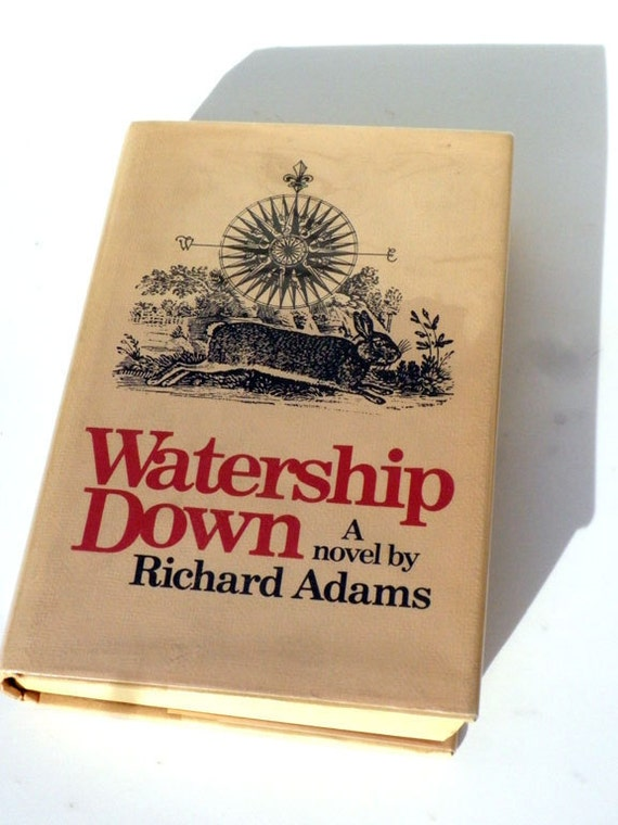 Watership Down A Novel by Richard Adams 1972 First Edition