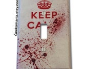 Keep Calm... Zombie Edition Light Switch Cover