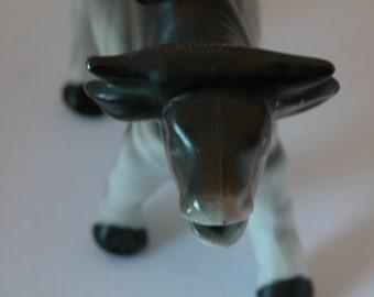 Vintage Porcelain Bull Pitcher
