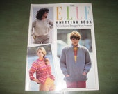 Vintage 1984 - The Elle Knitting Book - 50 Exclusive Designs from France