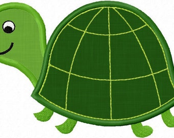 Instant Download Turtle  Applique Embroidery machine Design NO:1114