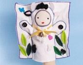 Cow, Hand Puppet, Plush Toy, PeekaBoo, Hide and Seek