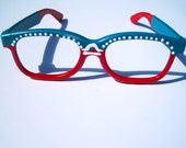 SPECIAL EDITION: Hand Painted Dual-Tone Glasses Frames - libra Inspired