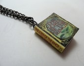 Lord of the Rings by J.R.R. Tolkien Miniature Book Pendant Necklace
