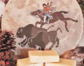 QUICK-PONY SWEETGRASS, Buffalo Butter Soap of NorthWoods Buffalo Ranch