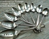 Hand Stamped Vintage Spoon or Fork