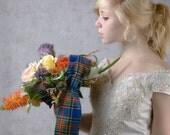 Scottish wedding bouquet: Scottish MacBeth Heritage Bouquet