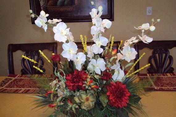Items similar to elegant silk floral arrangement