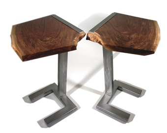 Modern contemporary end tables