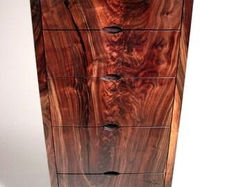 Modern Walnut Dresser