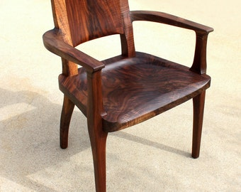 Modern Walnut dining chair