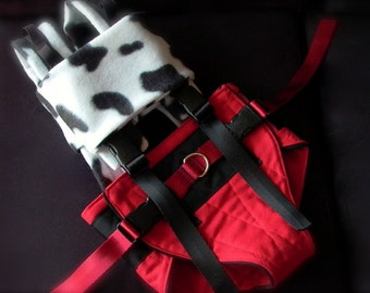 Moo-cow gravity-free harness