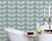 Mistress Mary: Reusable Wall Stencils for DIY decor - Decorative Stencil, Leaves