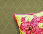 Flourish Trellis: Reusable, Wall Stencil, DIY stencil, Decorative Wall Stencils, trellis stencil, moroccan stencil,Wall Decor