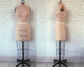 RESERVE for 'lbg1120' Vintage Wolf Dress Form Model 1980, size 8