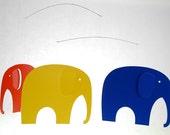 Danish Modern Vintage Flensted Elephant Mobile