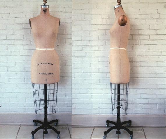 RESERVE for 'lbg1120' Vintage Wolf Dress Form Model