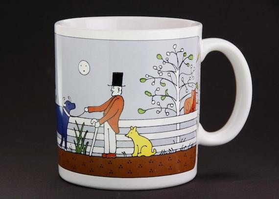 Vintage Taylor & Ng Farmer Mug