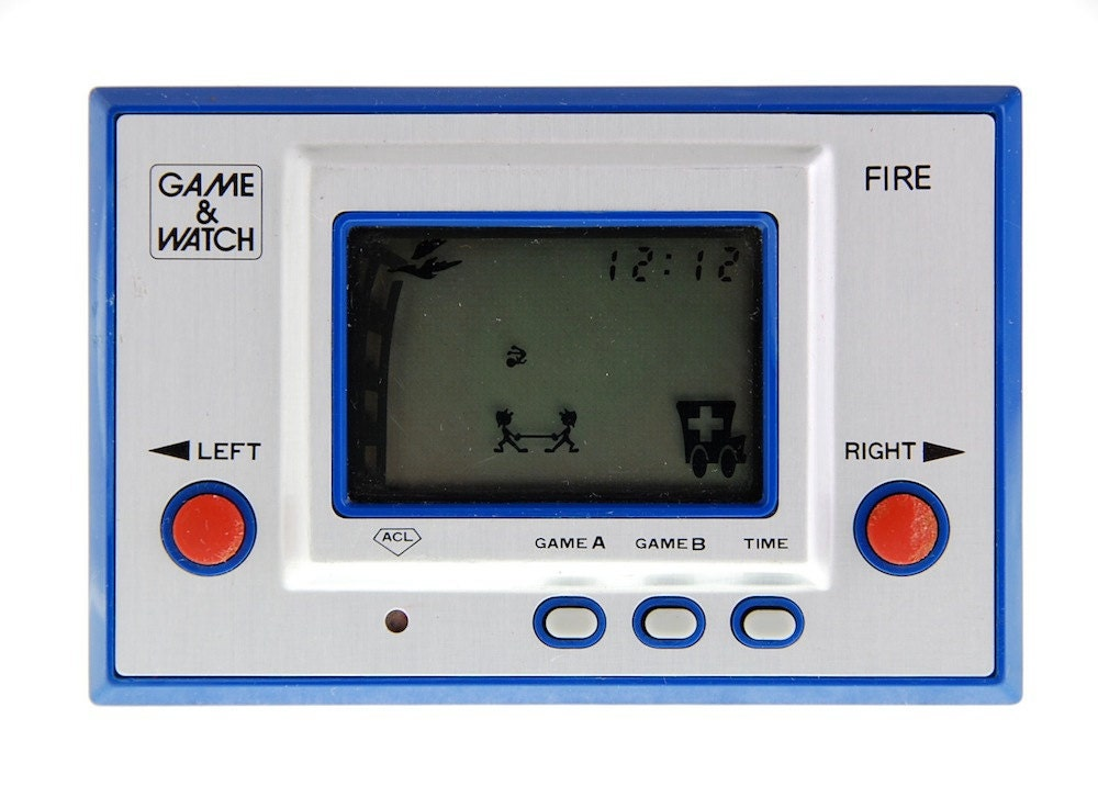 Original Nintendo Game and Watch FIRE 1980 by NeOld on Etsy