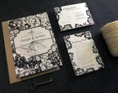 DIY Printable Wedding Invitation Pemberly - 4 pieces