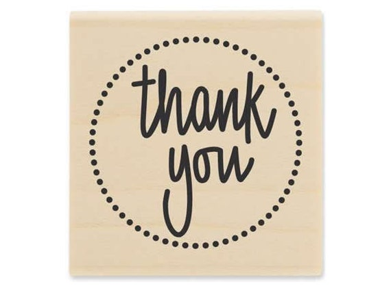 Thank You - Rubber Stamp