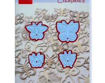 Mini Butterfly Dies - Paper Cutting - Marianne Creatables - for Scrapbooking and Card Making