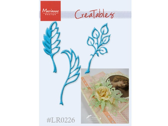 Paper Cutting Dies - Leaves - for Scrapbooking and Card Making - Marianne Creatables - LR0226