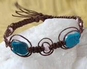 Owl Hemp Bracelet
