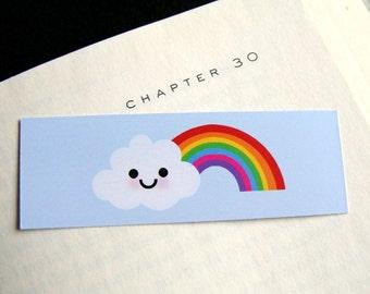 Rainbow - Mini Bookmark