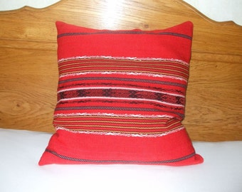 Vintage Traditional Hand Woven Cushion Pillow Cover