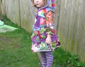 Stunning Butterfly Pixie Dress  Size2/3 yrs