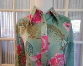 Classic Seventies Polyester Blouse