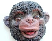 Animal-Monkey-Art-3D-Paper Mache-Wall Hanging