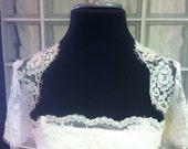 Lace Bridal Bolero Shrug