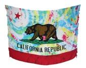 Californie Tie Dye Sarong / Pareo