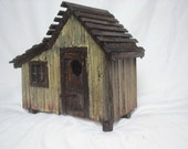 Tool Shed Birdhouse