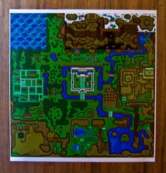 Hyrule legend of zelda a link to the past light dark world like this item sciox Image collections