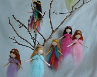 Hanging little fairy (made to order)