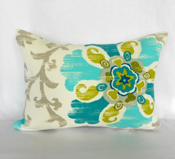 Outdoor Lumbar Pillow Cover ANY SIZE Decorative Pillows