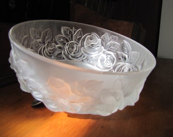 Vintage Verlys Floral Bowl