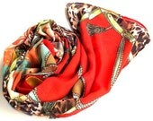Scarf Gorgeous with fashion spring and summer colours