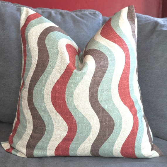 On Both Sides - Pillow Cover - Decorative Pillow Cover - Throw Pillow Cover - 15x15 in