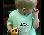 Funny T-shirt Car Wars